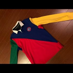Tommy Hilfiger long sleeve polo knit